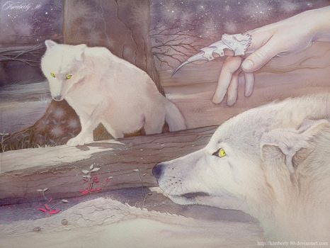 His wolves by kimberly80
