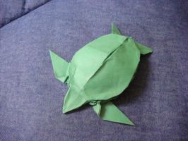 Origami Sea Turtle by silent-anton123