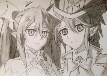 Krul and Lest by Anna-Knightley