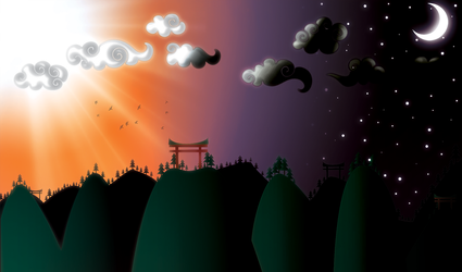 Collaboration - Landscapes by SS7-GFX
