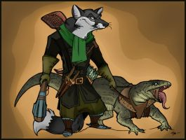 Redwall. Treasure Island. Logan and Blitz. by FortunataFox