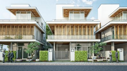 Villa type 3 front by nnq2603