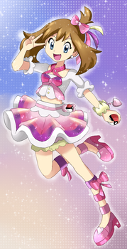 Sapphire [Pokemon Special] Contest Outfit by StarRockie