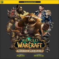 World of Warcraft Mists of Pandaria - ICON by IvanCEs