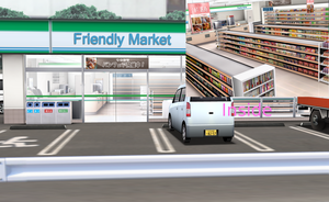 MMD Friendly Market stage. by amiamy111