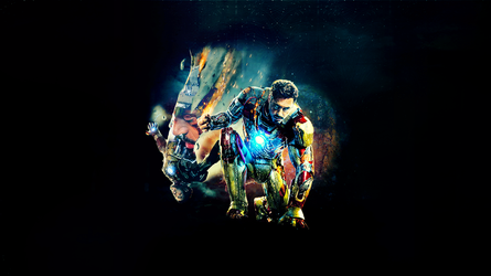 Wallpaper - Iron Man 3 by chiaratippy