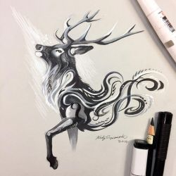 Black Stag by Lucky978