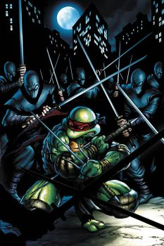 TMNT cover by JPRart