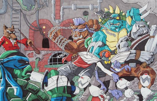 TMNT Sewer Commission by justinprime