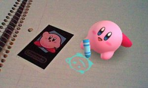 Kirby Drawing by crazy4kirby