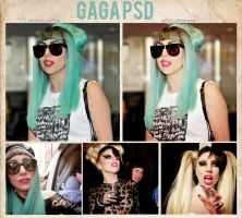 Gaga PSD by delicatepetals