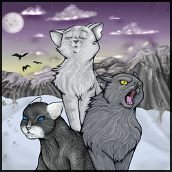 The Trio of Iceclan by WolfDoom