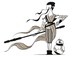 Rey by FlashBros