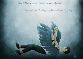 I will fly with no hope, no fear... by Lexie-Starbeam