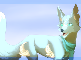 Golds and Blues by Whitelupine