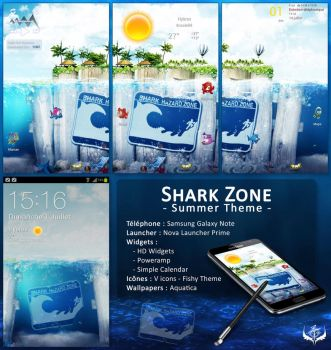 Shark Zone Theme by Koori-jmc