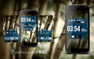 Blues and Bamboos by MarcoDontSayPolo