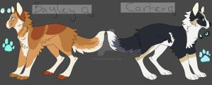 Bayley and Carters ref sheet by Uki-U