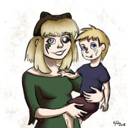 [Dig] The Proud mother and the bright child by hylidia