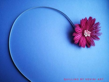 Quilling flower by Vevini art by Vevini-art