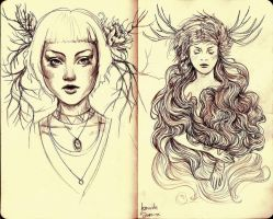 Sketchs XI by agnes-green