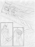 A Tragedy of Angels 3 pencils by KamouriKing