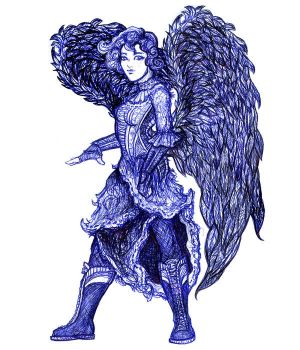 Blue Angel by freyah