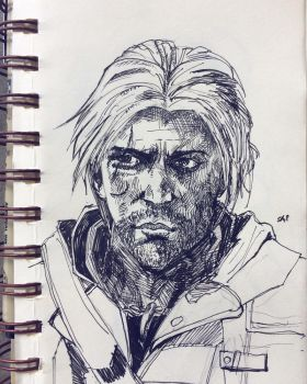 Edward Kenway by Disegnophilia