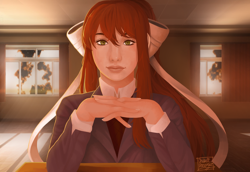 Just Monika by ChibiDreemur