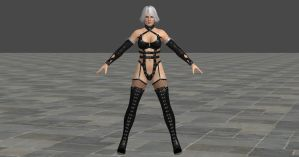 DOA 5 Christie C9 Dominatrix by Chrissy-Tee