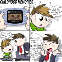 Childhood Memories: Not being able to read by ArcticFox2012