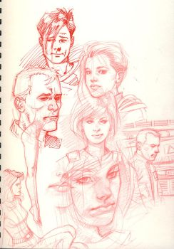 more sketching 2 by DylanTeague