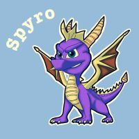 Spyro the Dragon by MisakiKurokishi