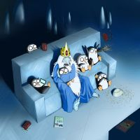 Ice King's Scary Movie Night by Ghashak