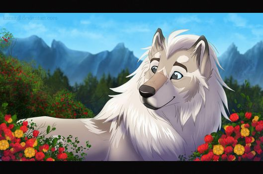 Mountain Flowers by KanuTGL