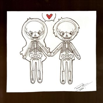 I love you to the bones by rossiexd