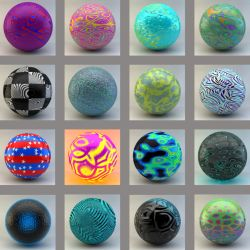 material set 2 for cinema 4d by xylomon