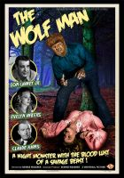 The Wolf Man 1941 Poster by smalltownhero