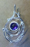 Celestial Swirl Pendant by camias
