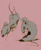 Mice by DragonSanguinary