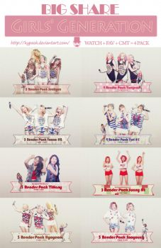 [BIG SHARE] Girls' Generation - SNSD by kypaok