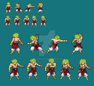 Broly jus supers by Rct29