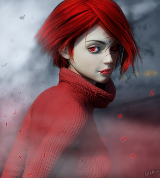 Red Is Evil by AHAKuo