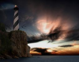 Bonny Lighthouse by to-the-brink