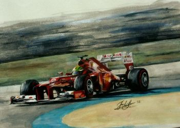 Felipe Massa and the F2012 by CaptainJoellie