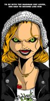 Bride Of Chucky Movie Poster by luvataciousskull