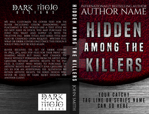 Hidden Among the Killers Premade Cover