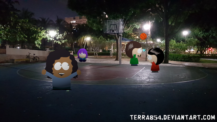 [AT] Playing Basketball by Terra854