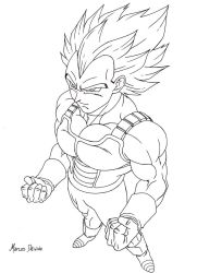 Super Vegeta by rosan-mate