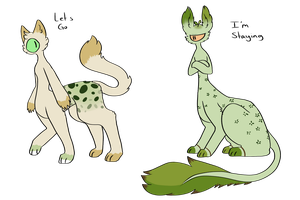 [CLOSED][Lapinnias DTA] Grassy Friends by MsCasual